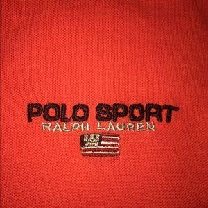 Polo Sport vintage women's crop top authentic